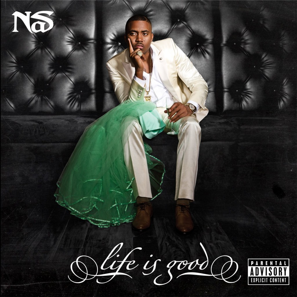 nas-life is good cover cd